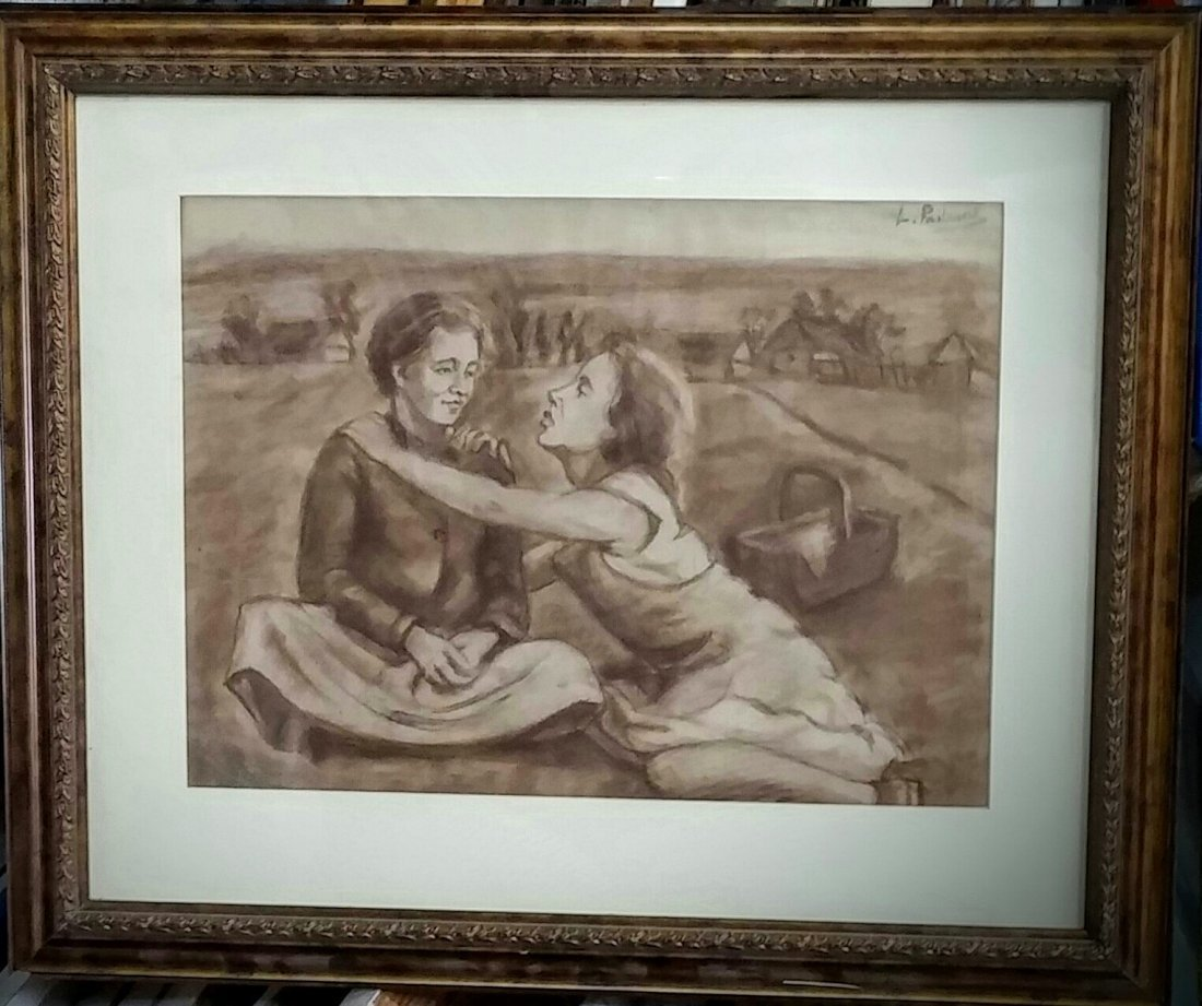 LEONID PASTERNAK Signed Painting Russian Impressionism - 4