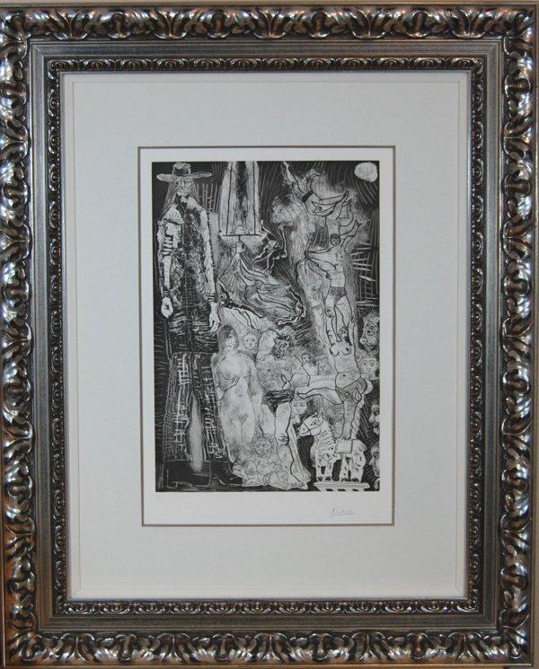 195: Cirque, avec El Gigante, et Autoportrait en Bebe-V
