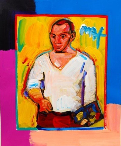 21: Peter Max: Portrait of Pablo Picasso II
