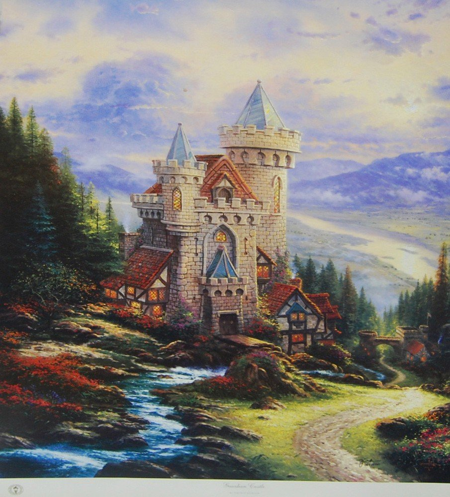 21: ARTIST: Thomas Kinkade TITLE: Guardian Castle