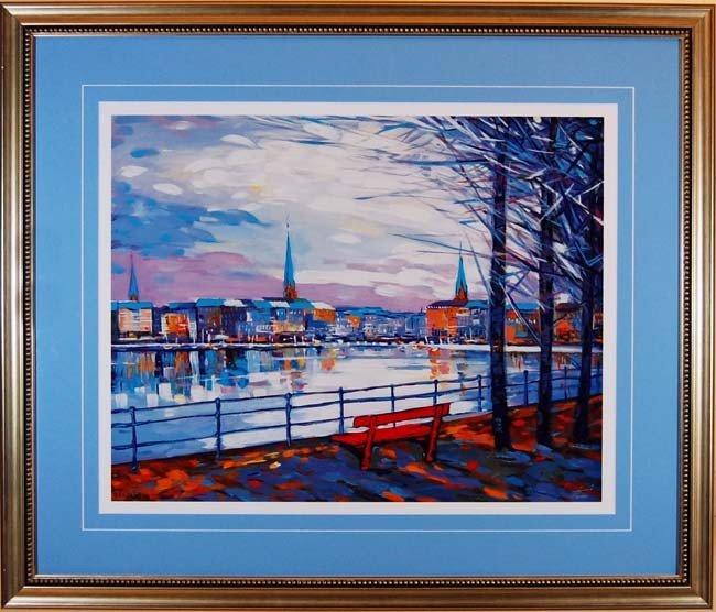 ARTIST: Dani TITLE: The Lake in Hamburg