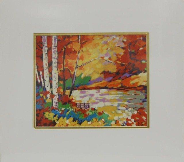 ARTIST: Shkelqim Dani TITLE: Fall in Park