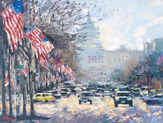 ARTIST: Elena Bond TITLE: Capital Salute