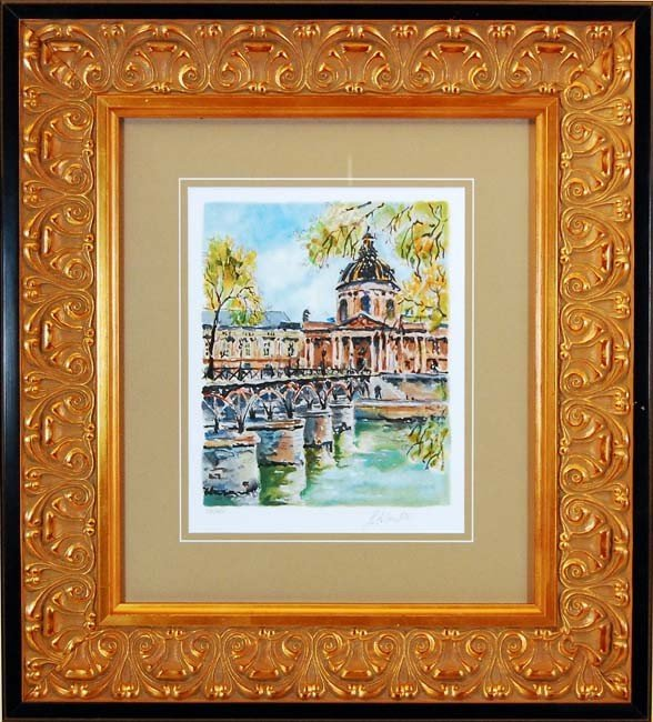 ARTIST: Pierre Eugine Cambier TITLE: Bridge by Church