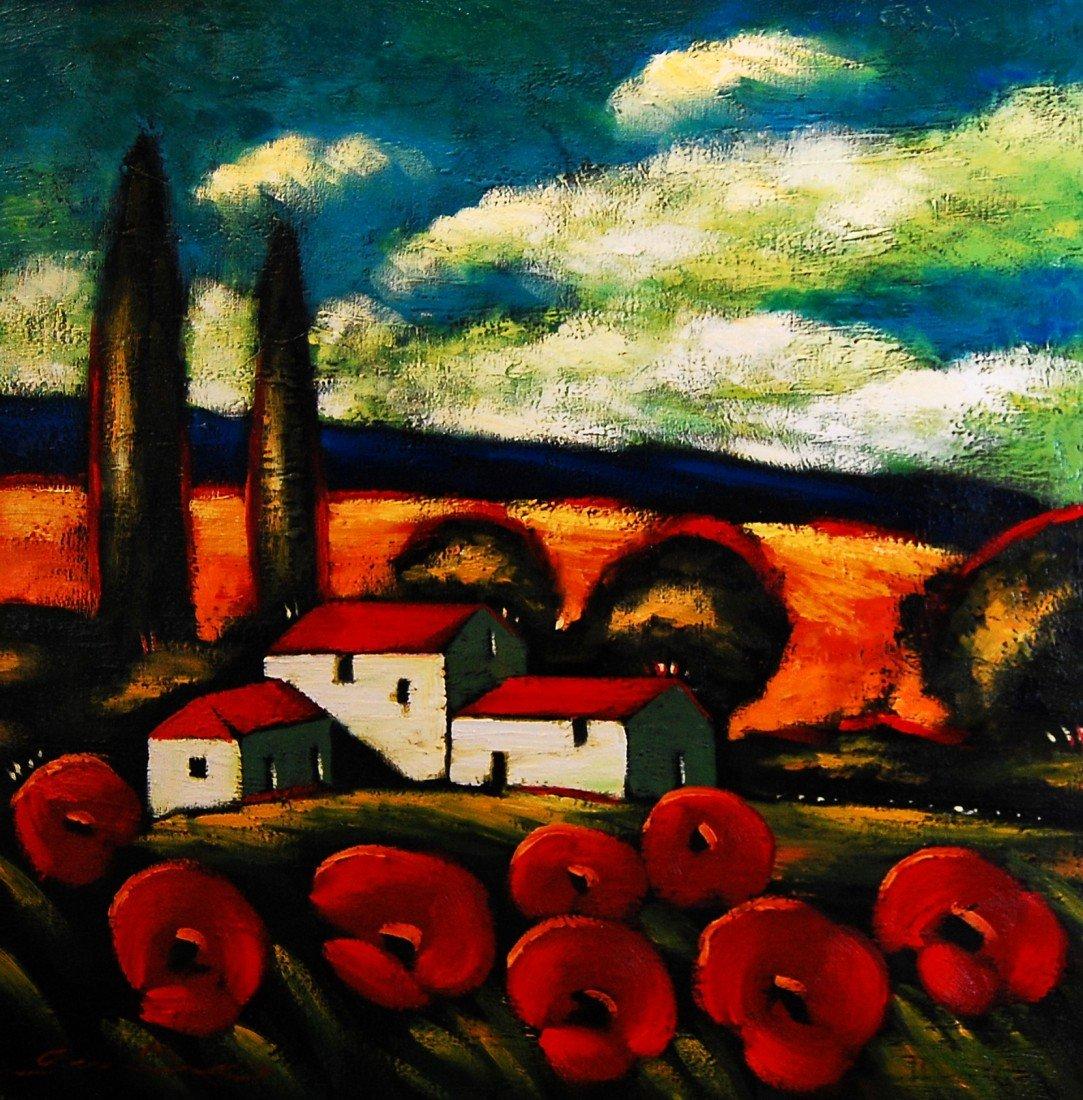 ARTIST: Sergey Cherep TITLE: Blue Mountains