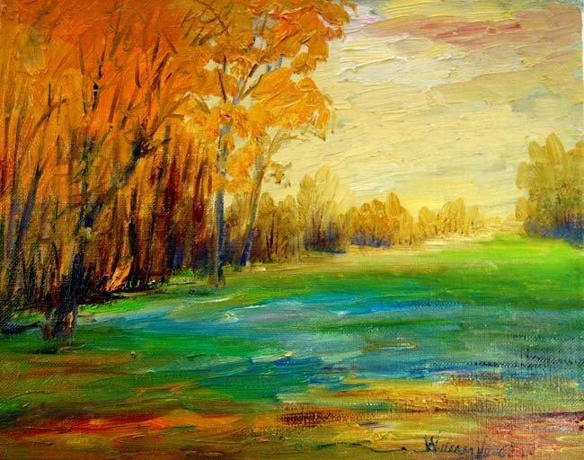 ARTIST: William Vincent Kirkpatrick TITLE: Sundown in K