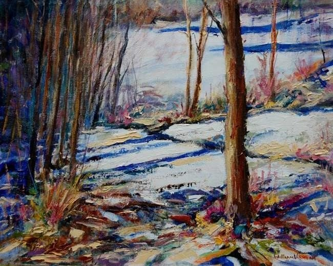 ARTIST: William Vincent Kirkpatrick TITLE: Snow Silence