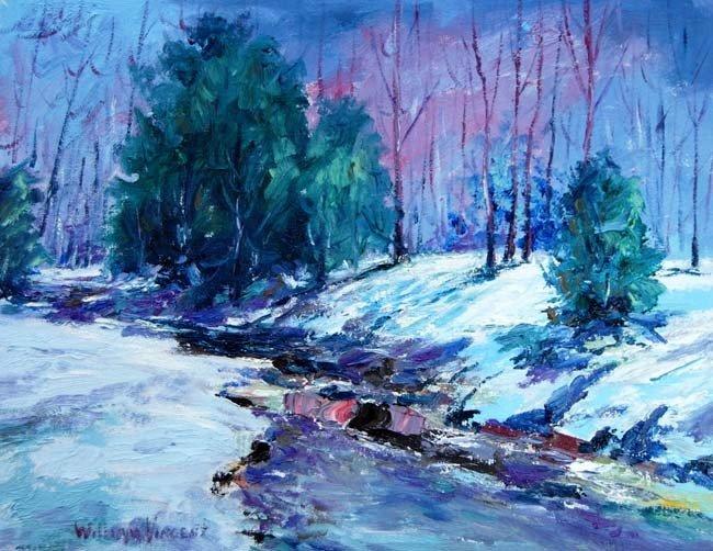 ARTIST: William Vincent Kirkpatrick TITLE: Frozen River