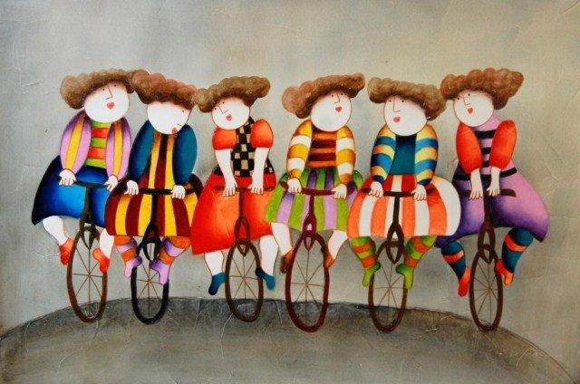 ARTIST: J. Roybal TITLE: Untitled (Six Sisters)