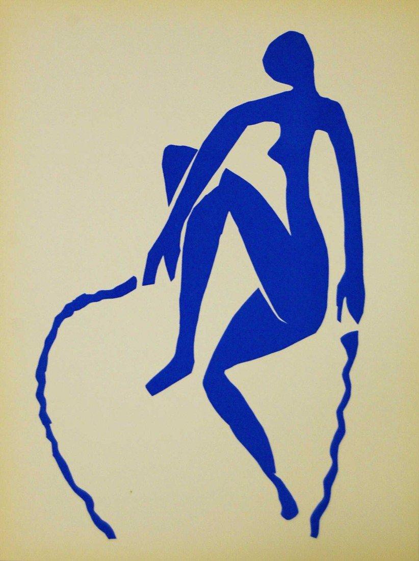 ARTIST: Henri Matisse TITLE: Nu bleu sauteuse de corde