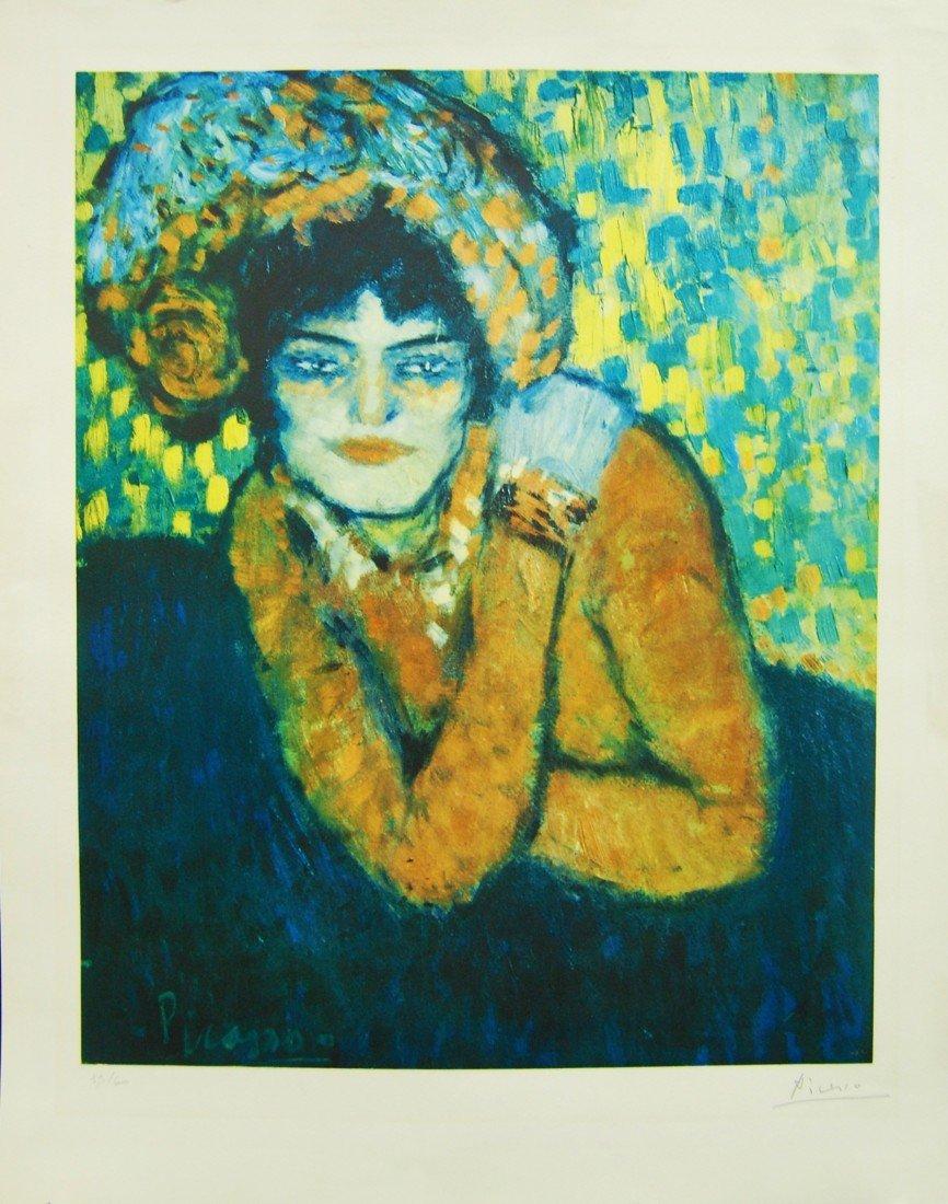 ARTIST: Pablo Picasso TITLE: Anticipation