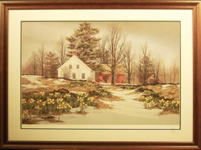 ARTIST: Fred Swan TITLE: North Country Spring