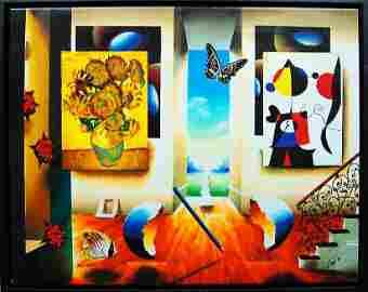 Ferjo - Miro and Sunflowers