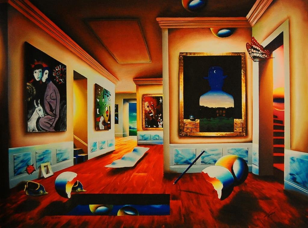 Ferjo, Interior with Magritte