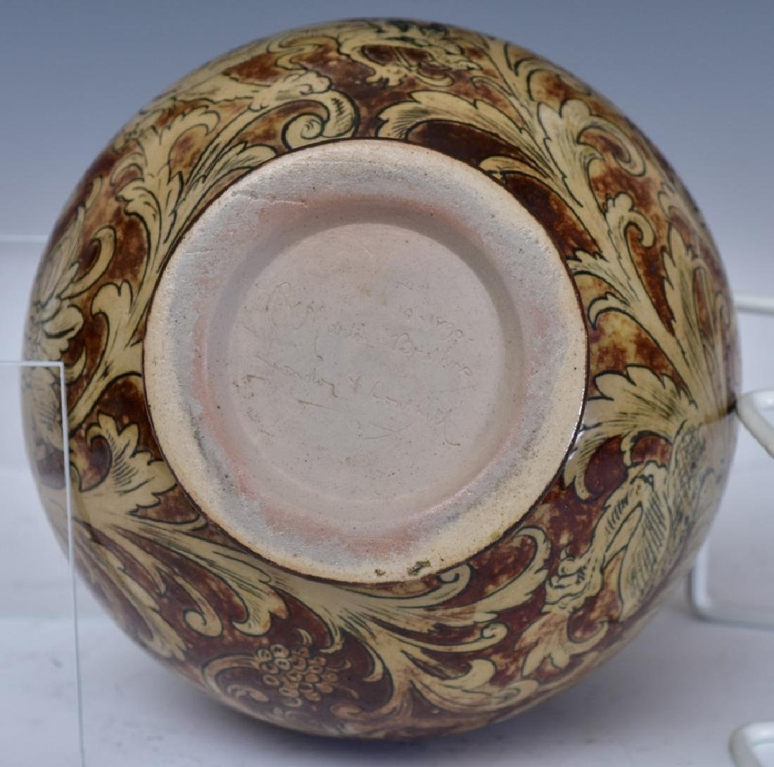 Martin Brothers Glazed Stoneware Vase - 4
