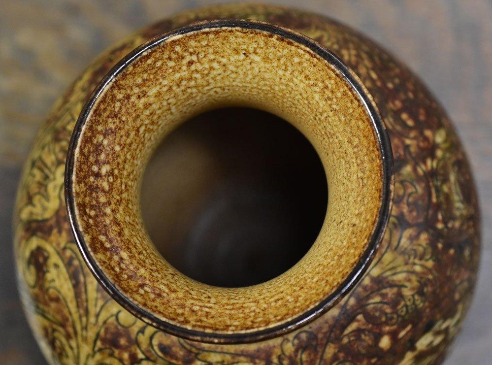 Martin Brothers Glazed Stoneware Vase - 7