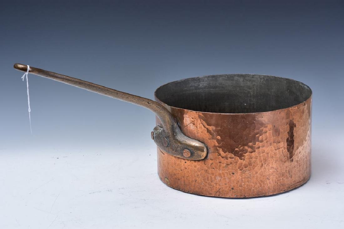Hammered Copper Cooking Pot