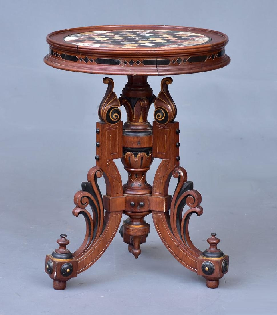 Victorian Specimen Marble Center Table