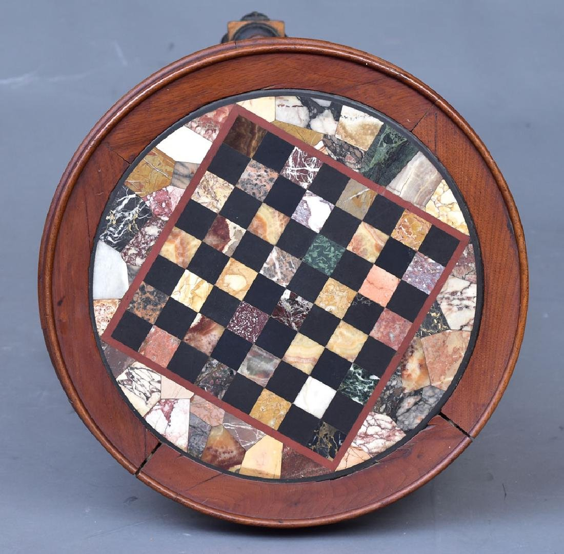 Victorian Specimen Marble Center Table - 3