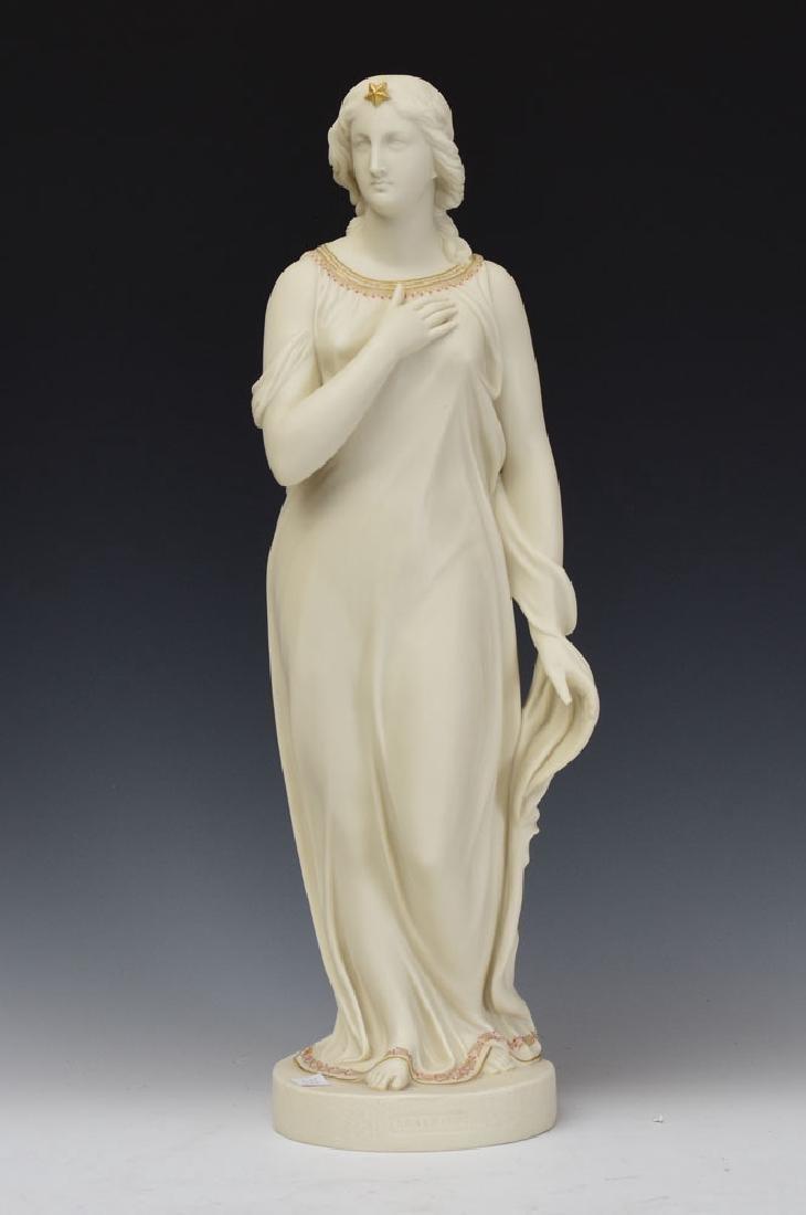 Copeland Parian Figure of Beatrice