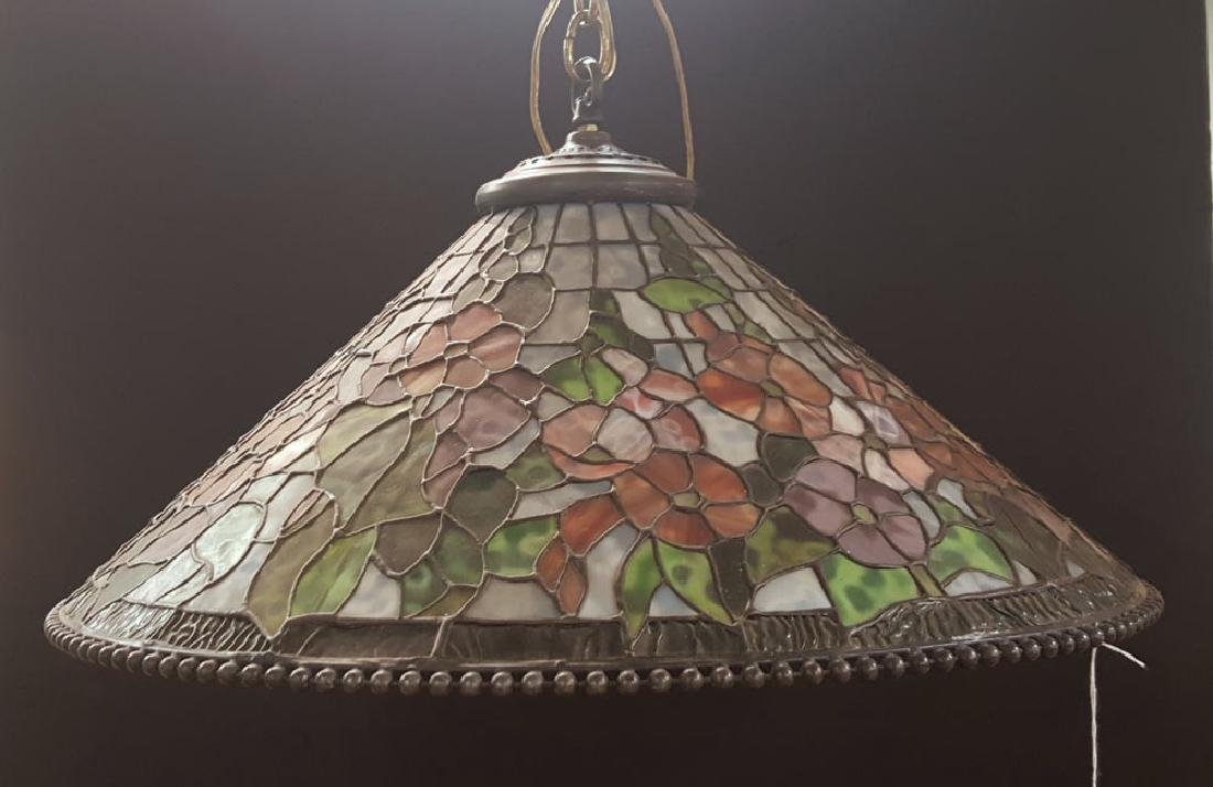 Dale Tiffany Leaded Glass Hanging Fixture