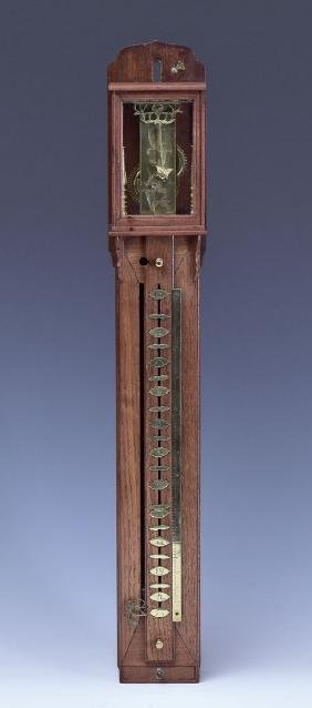 Japanese Pillar Clock