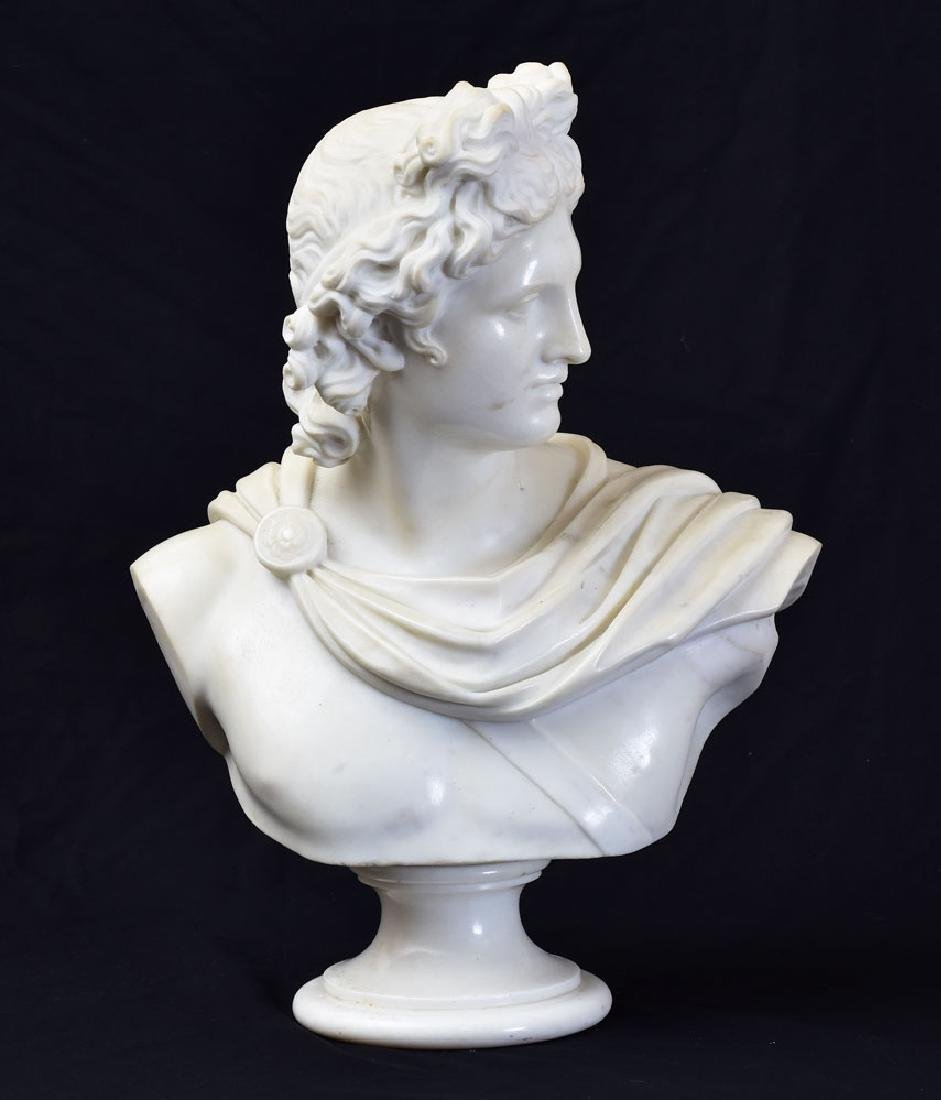 Italian Marble Classical Bust