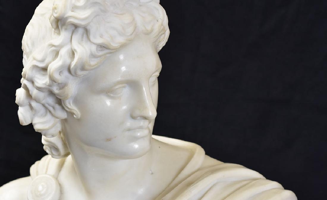 Italian Marble Classical Bust - 2