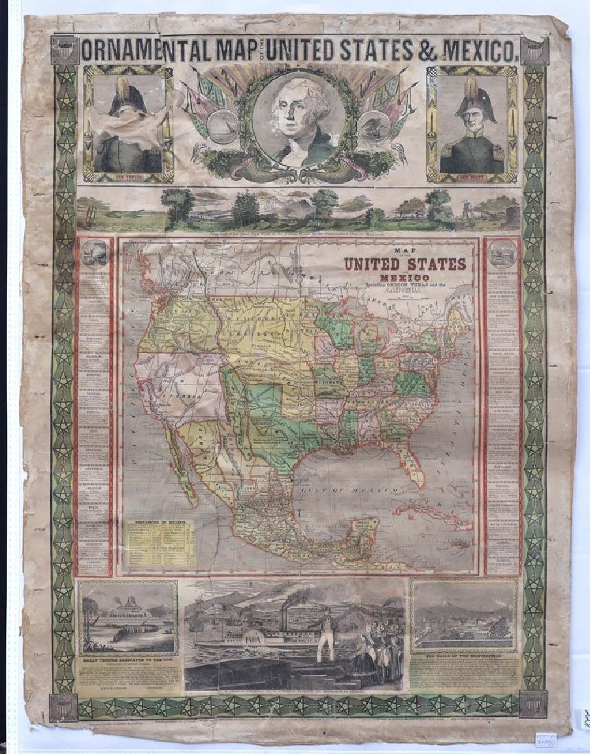 Ensigns & Thayer 1848 Map