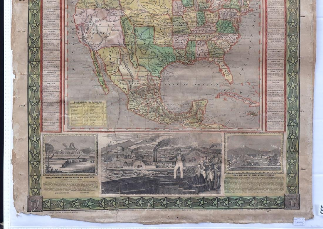 Ensigns & Thayer 1848 Map - 3