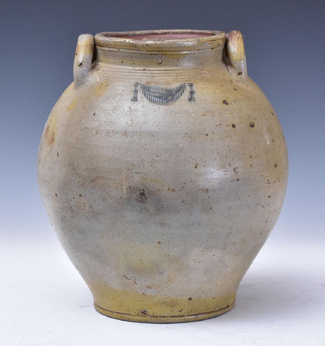 Three Gallon Incised Stoneware Crock
