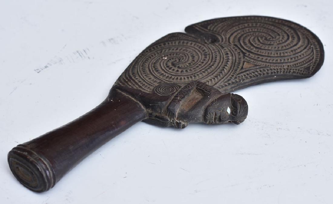 Maori Carved Patu Wahaika - 6