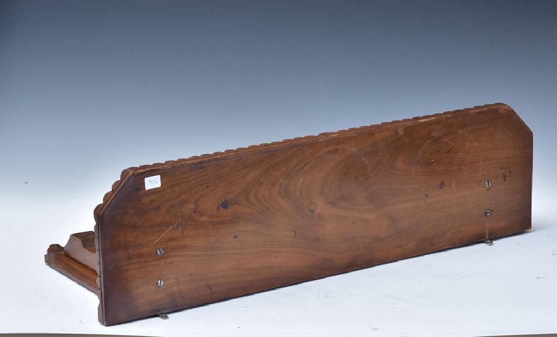 Victorian Eastlake Walnut Shelf Bracket - 2