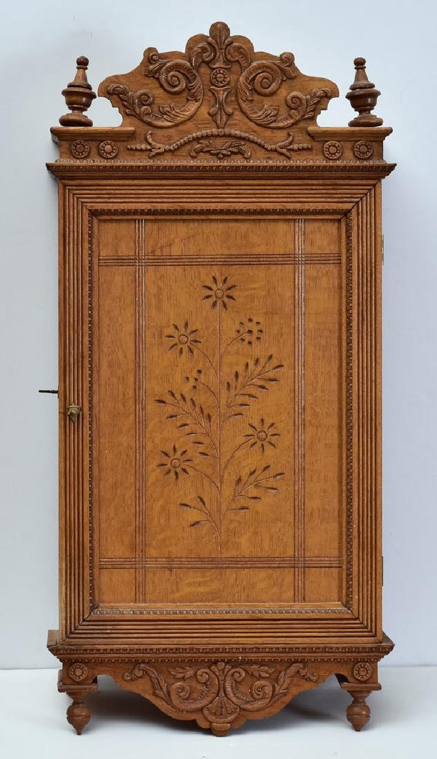 Victorian Eastlake Medicine Cabinet
