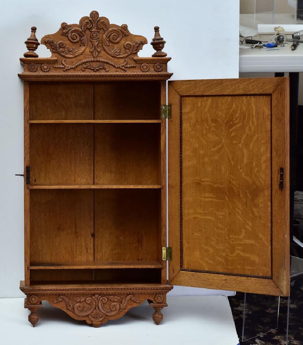 Victorian Eastlake Medicine Cabinet - 2