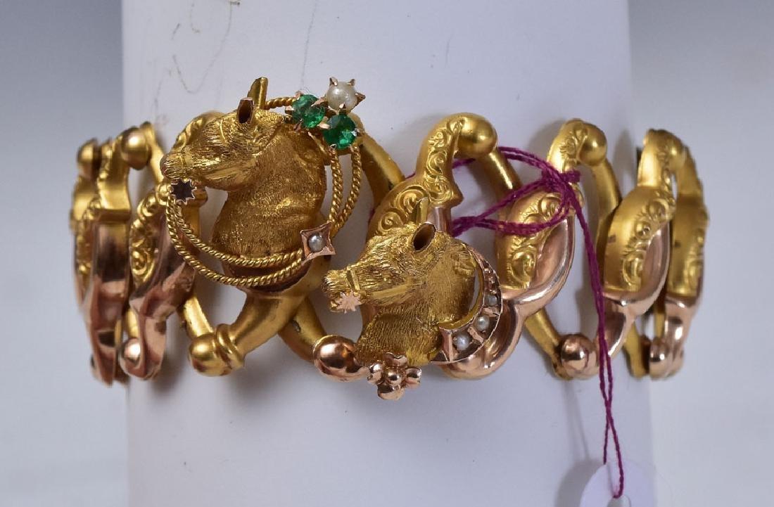 Victorian 10k Gold Bracelet