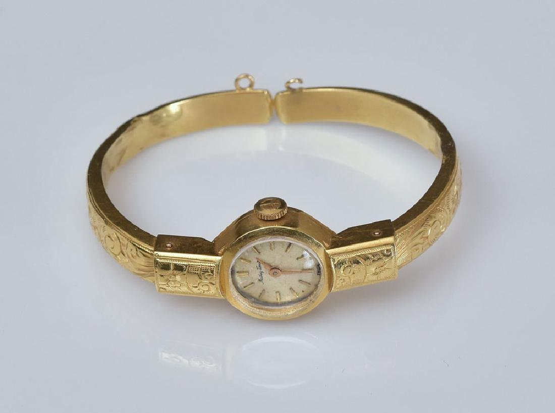 18k Gold Tissot Ladies Wrist Watch