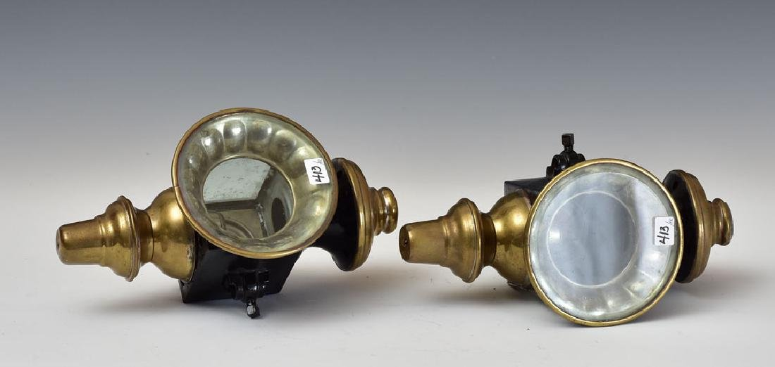 Pair of Carriage Lamps