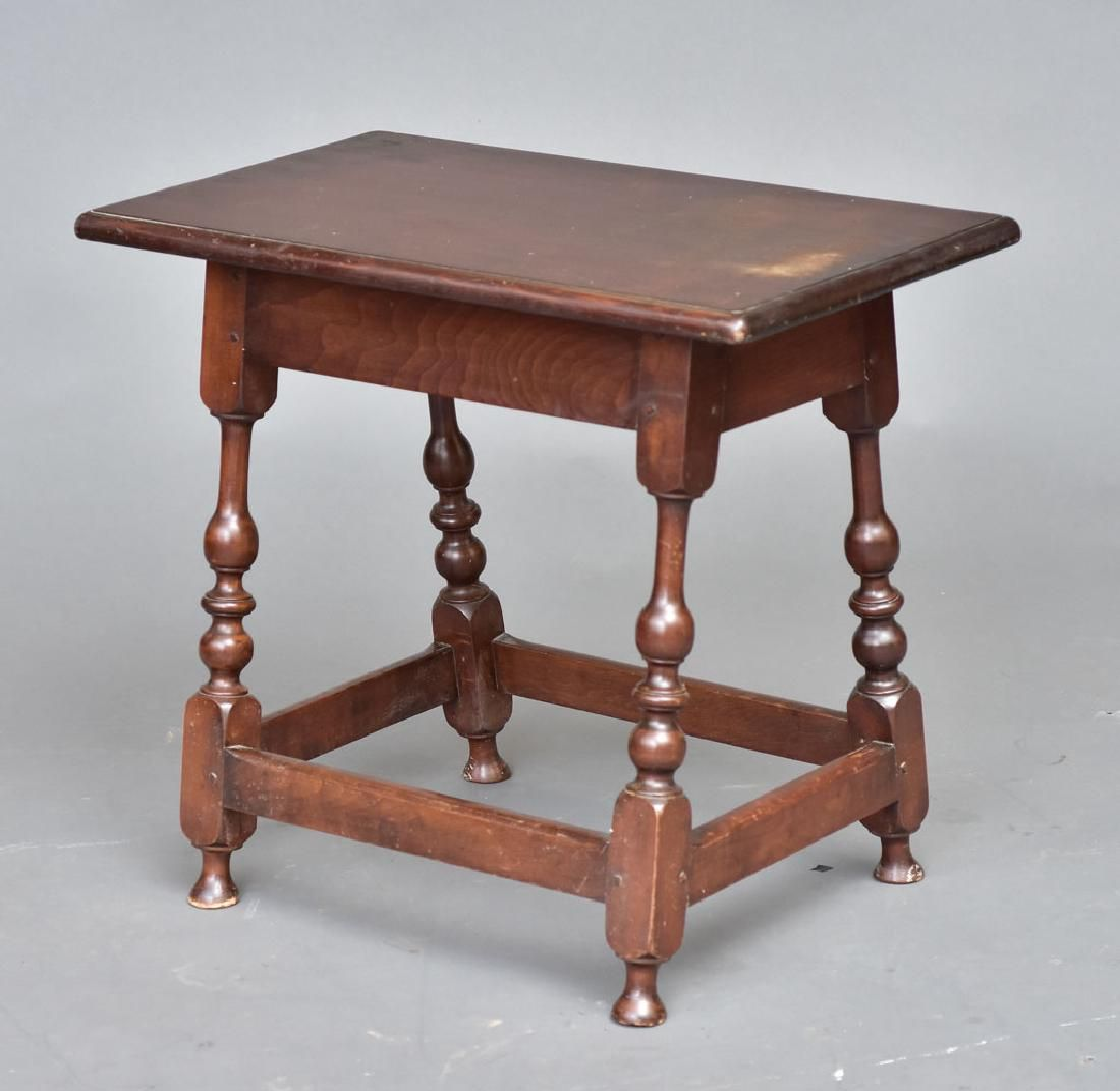 attributed to Wallace Nutting Side Table