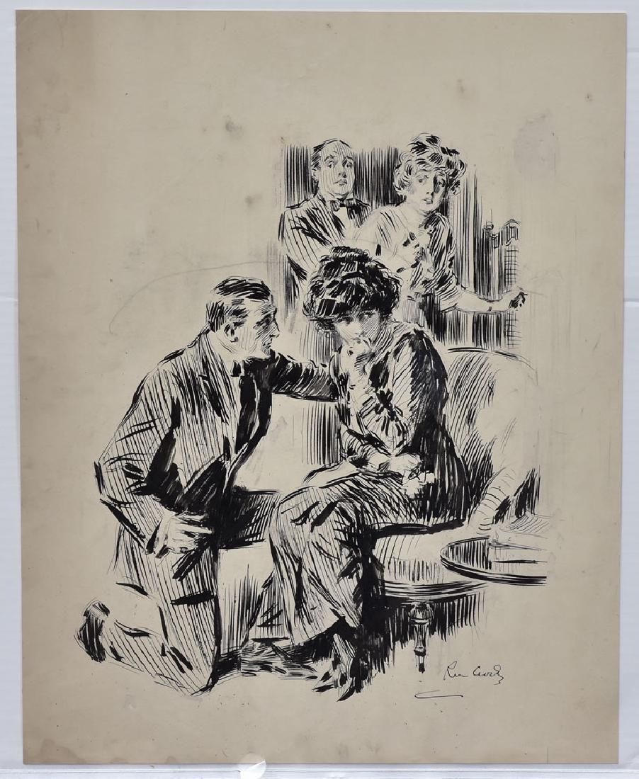 Raymond Crosby Original Illustration Art (2)