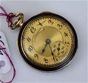 Longines 18k Gold Ladies Pocket Watch