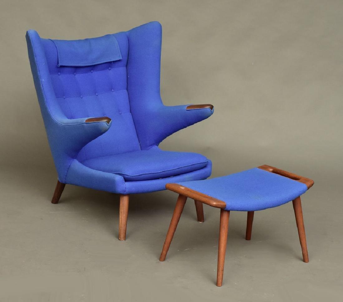 """Hans Wegner """"Papa Bear"""" Chair"""