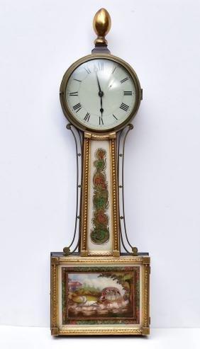 Federal Banjo Clock