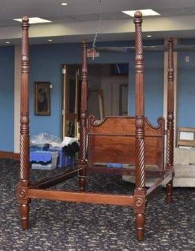 Empire Revival Four Poster Bed