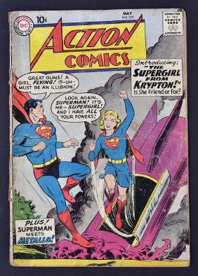 Dc Comic Book Superman #252