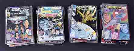 DC Star Trek Comic Books