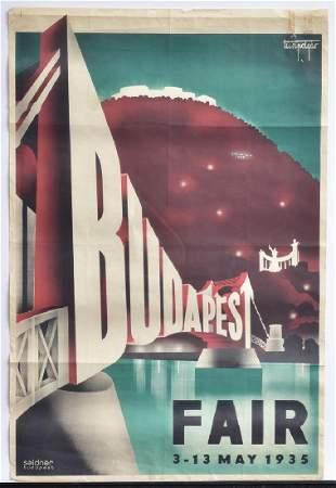 Budapest Fair Poster