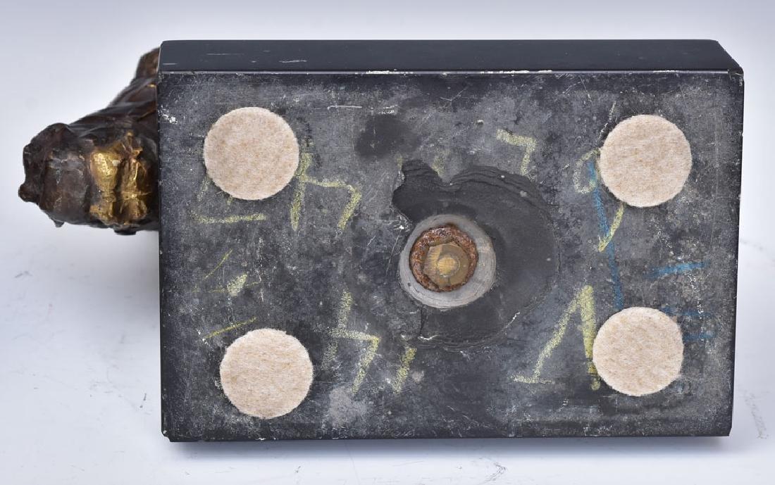 Bronze Horse Bookends - 5