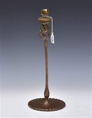 Tiffany Studios Candlestick
