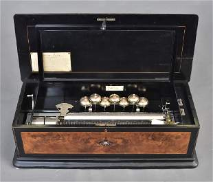 Paillard Cylinder Music Box